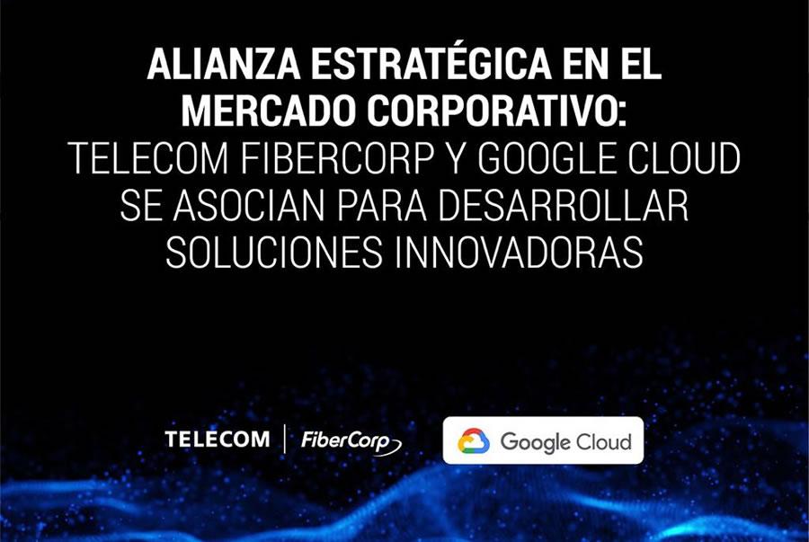 Alianza estratégica en el mercado corporativo: Telecom Fibercop y Google Cloud