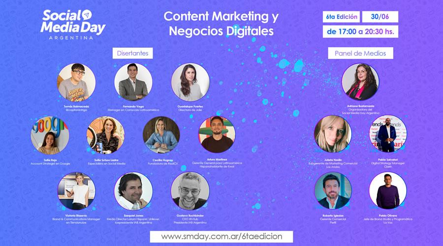 Todo listo para la 6° Edición online de Social Media Day Argentina